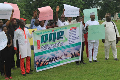 #YouthTakeOver2019: New Movement Marks International Youth's Day With Special Rally in Abuja