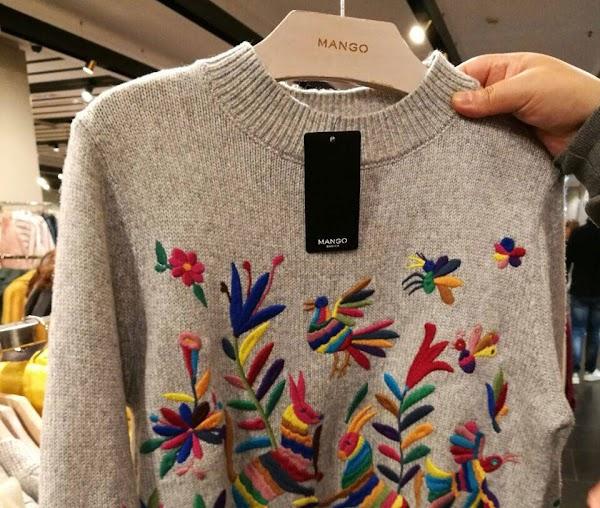 Marca de ropa española es acusada de plagiar bordados de indígenas de México
