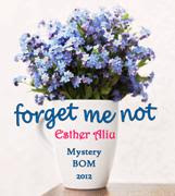 Forget Me Not BOM