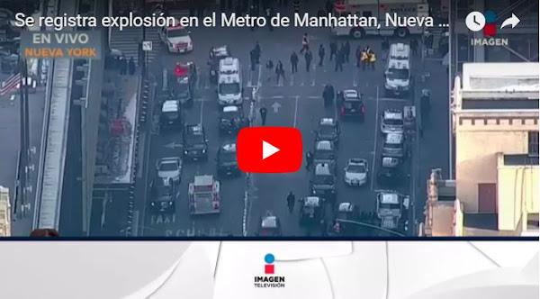 Se le explotó la bomba a un terrorista antes de tiempo en Manhattan