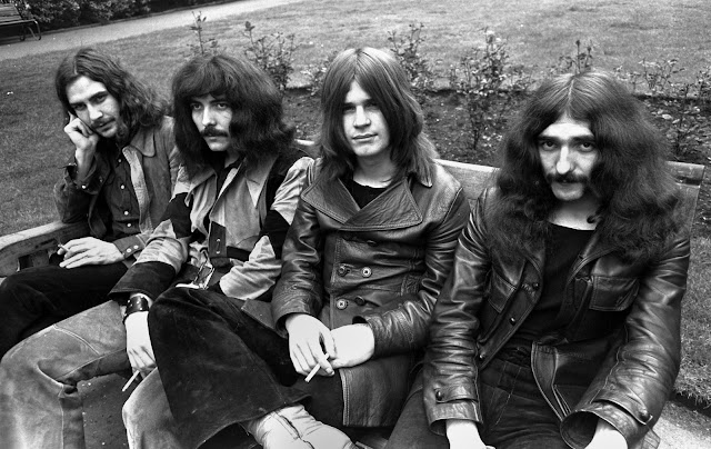 Integrantes de Black Sabbath en 1970
