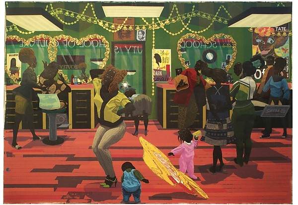 Kerry James Marshall - School of Beauty, School of Culture (2012)