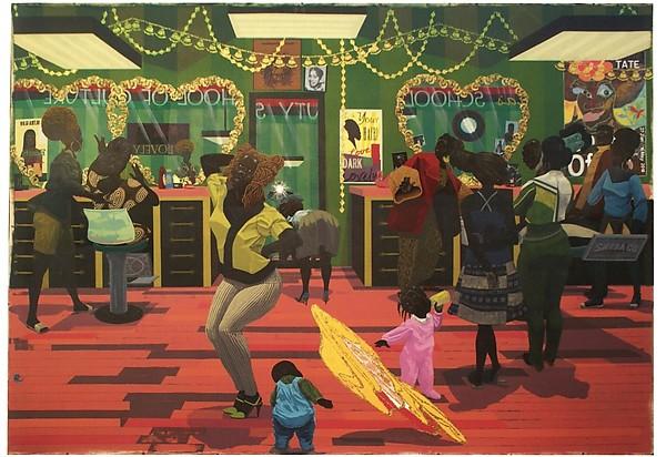 Kerry James Marshall - School of Beauty, School of Culture (2012)