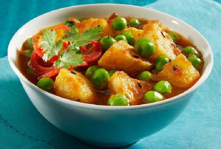 Green peas for dinner