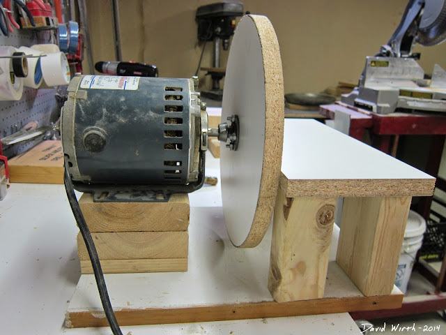 diy disc sander, make, build