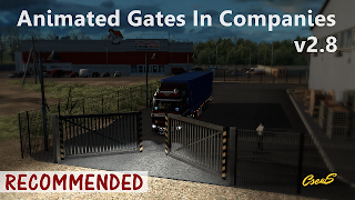ets 2 animated gates in companies v2.8