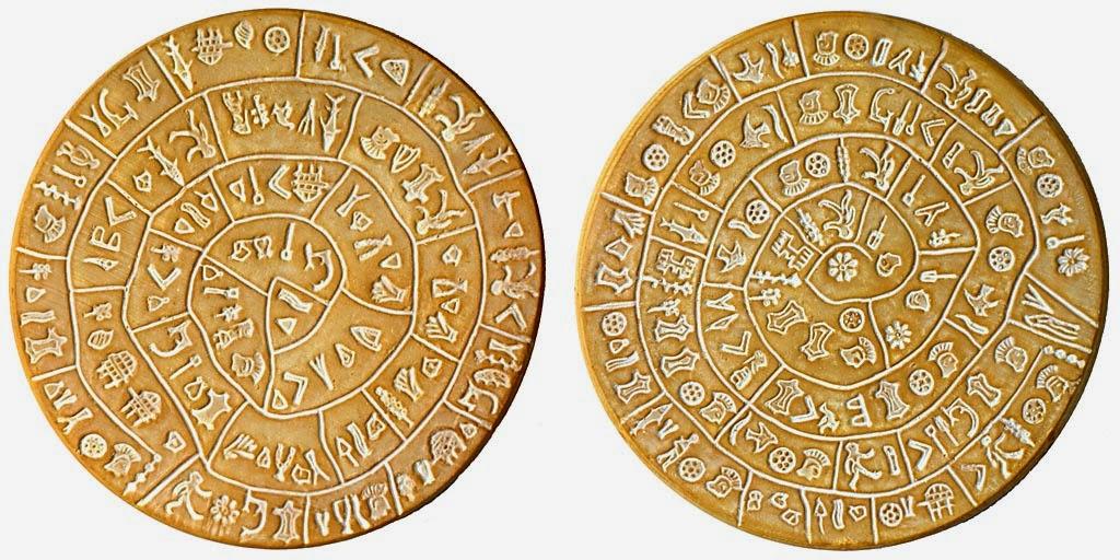 il disco minoico di festo chiave del dna