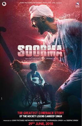 Taapsee Pannu, Diljit Dosanjh New Upcoming Punjabi movie 'biopic Soorma' 2018 wiki, Shooting, release date, Poster, pics news info