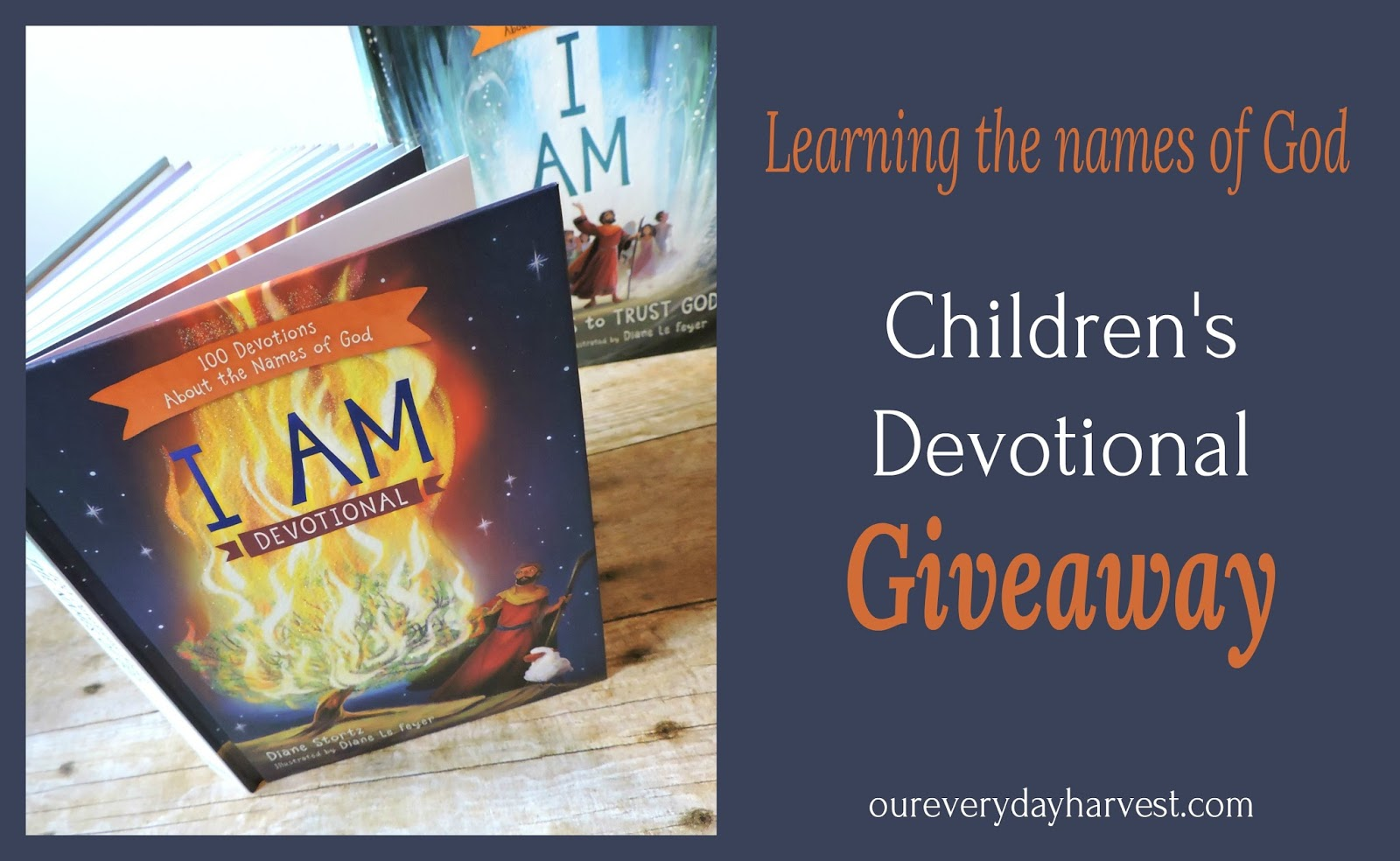 I AM Devotional {GIVEAWAY} – 100 Devotions About the Names