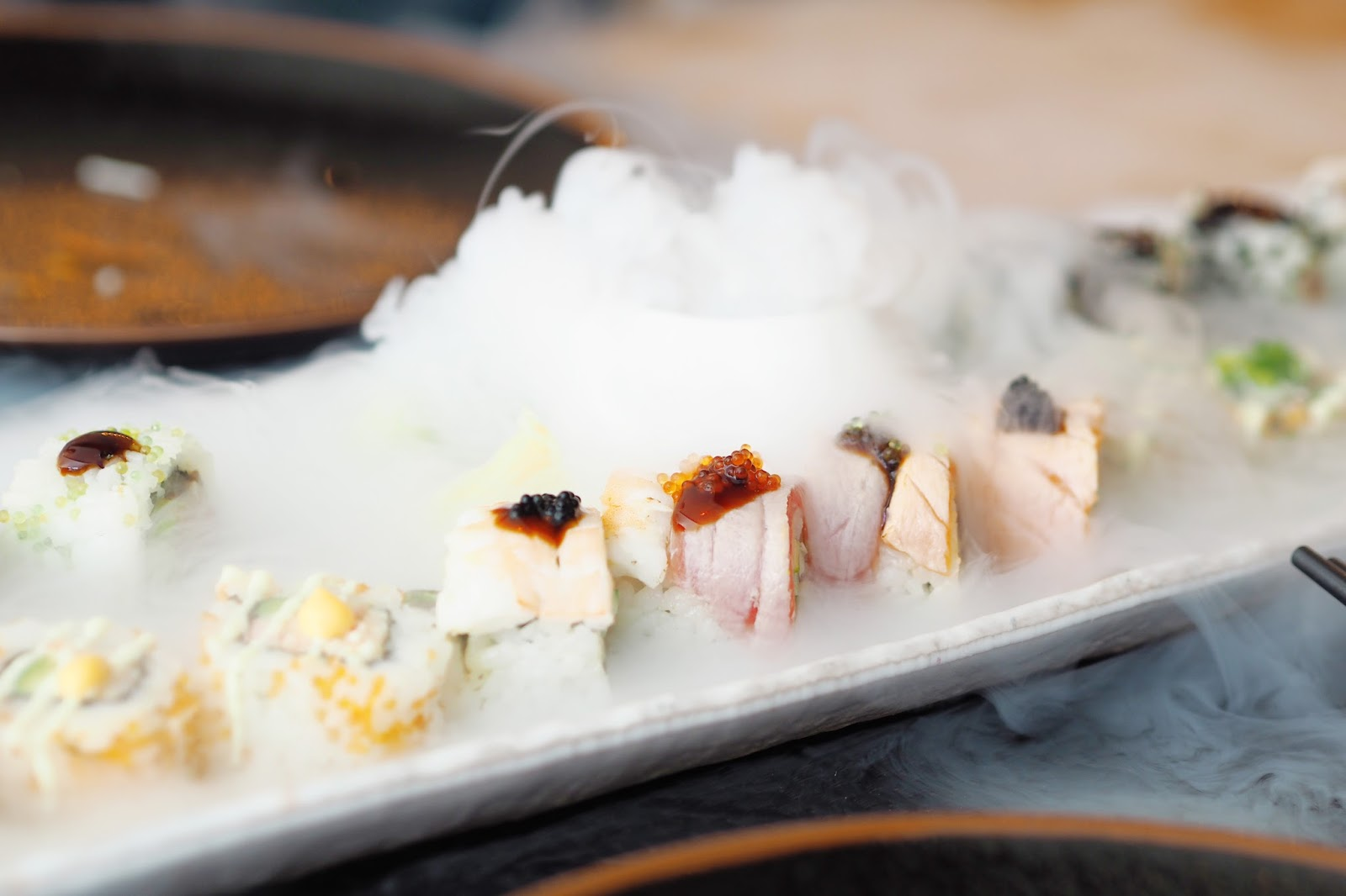 Mixed sushi Maki platter