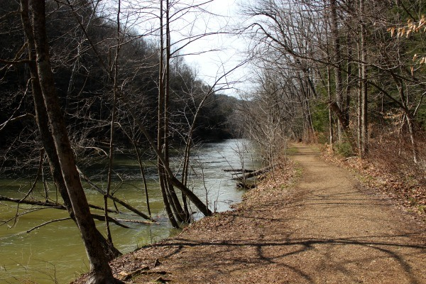Hiking the Pleasant Hill Trail in Ohio. Photo credit Tonya of Travel Inspired Living.