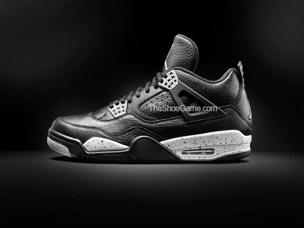 "... made with better quality materials. In case you thought the Nike  subsidiary was blowing smoke, here's an advanced look of the Air Jordan IV  ""Oreo."""