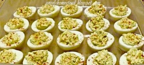 Home Sweet Homestead: Deviled Eggs