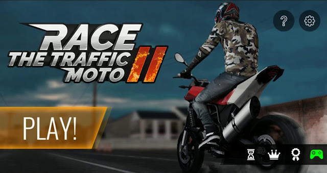Download Moto Traffic Race 2 V1.4 Mod Apk ( Unlimited Gold, Nitro ) Terbaru