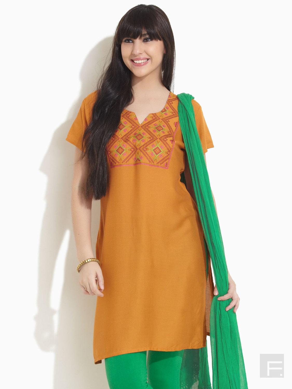 Latest fashion style kurta for girls in the world - Sari Info