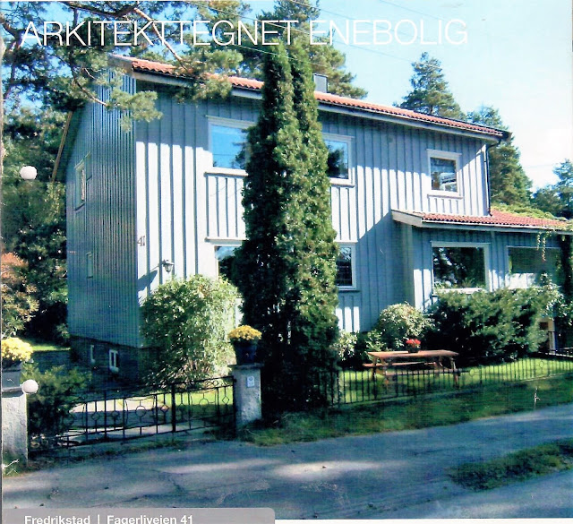 Se en hage i harmoni med seg selv - Huset før Kari og Kolbjørn overtok det. Furulunden.