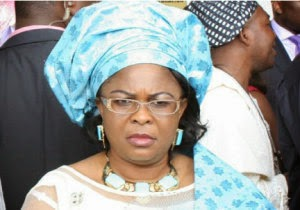 Dame Patience Jonathan reacts to alleged N3b bribe from NNDC