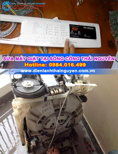 Sửa Máy giặt tại Sông Công Thái Nguyên Uy tín là vàng
