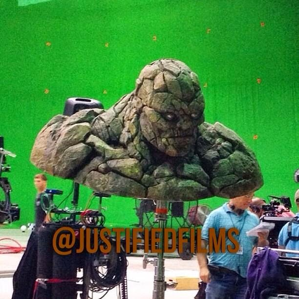 Ben Grimm Jamie Bell as The Thing in Fantastic 4 reboot