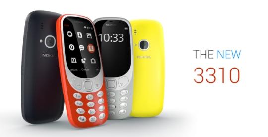 HMD/Nokia relançam o clássico 3310 com o jogo da Cobrinha,Bluetooth,Câmera  e suporte para cartões MicroSD