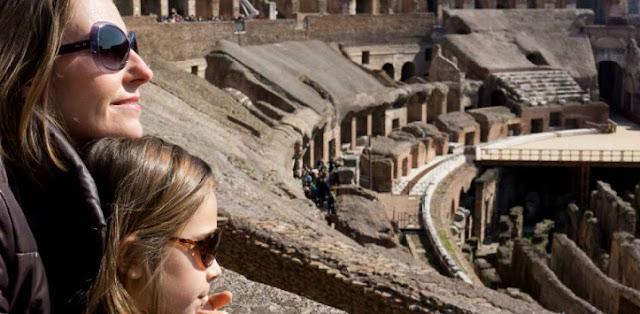 Visite o Coliseu de Roma com as crianças