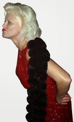 jaguarjulie glamour shot in red dress