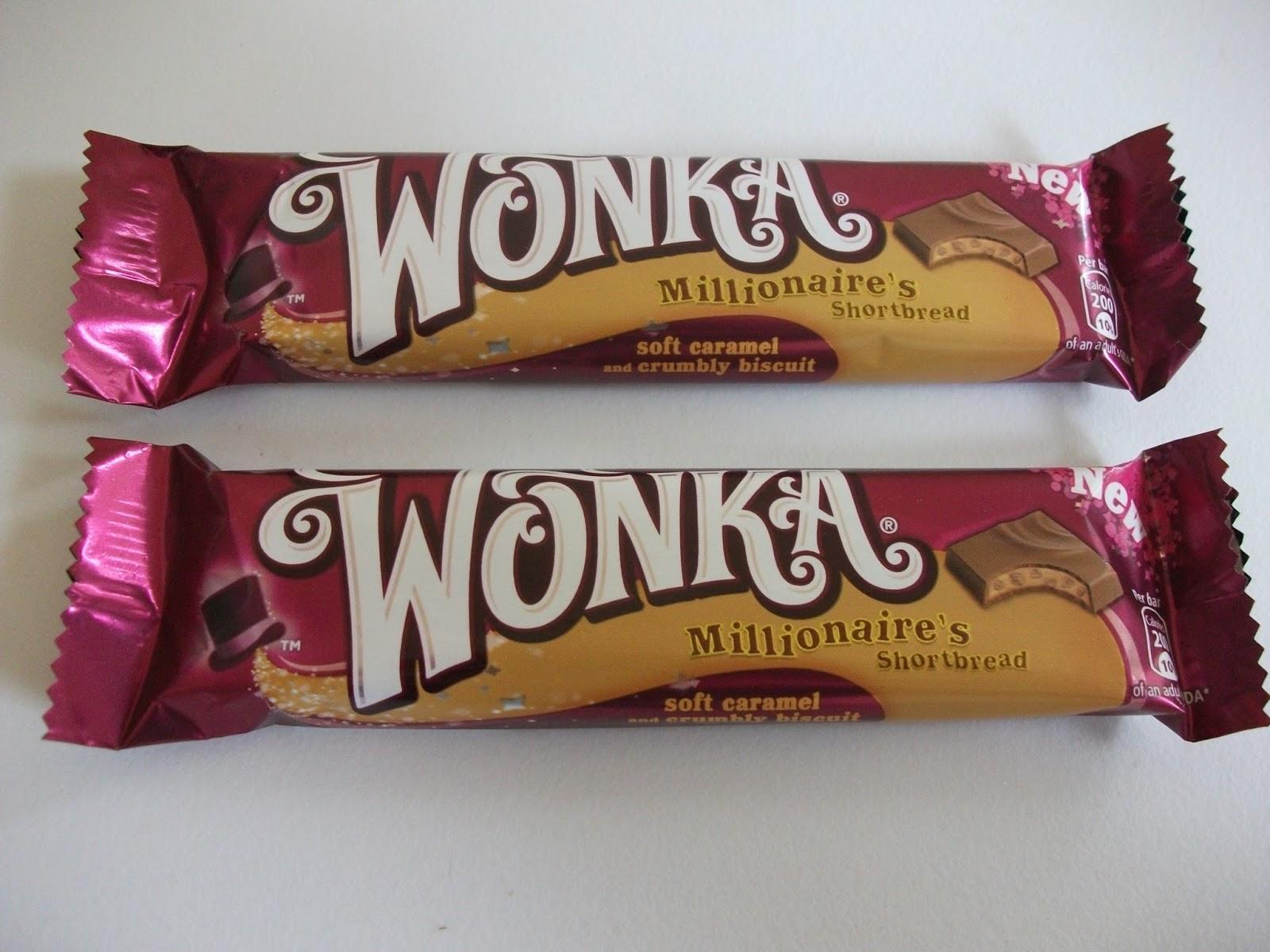 Nestlé Wonka Millionaires Shortbread Bar Review