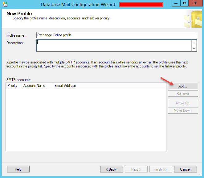 Hybrid Cloud Engineering Blog: How to configure SQL Database