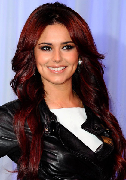 Cheryl Cole Red Hair Color