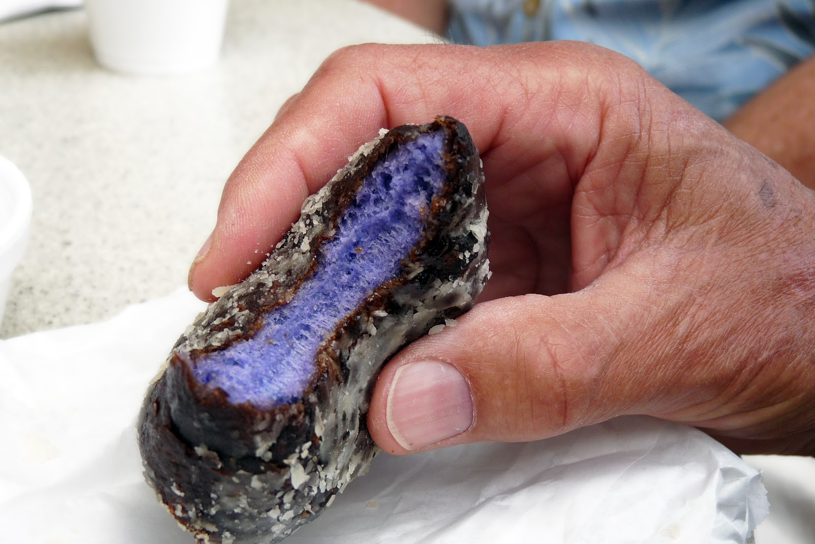 Want To Try A Purple Poi Filled Goo For Breakfast At The Aston Waikiki Beach Hotel