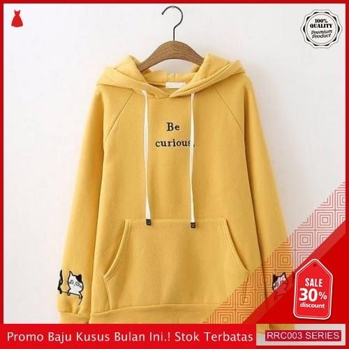 RRC003B25 Be Terbaru Curiouse Sweater Hodie Wanita Terbaru BMGShop