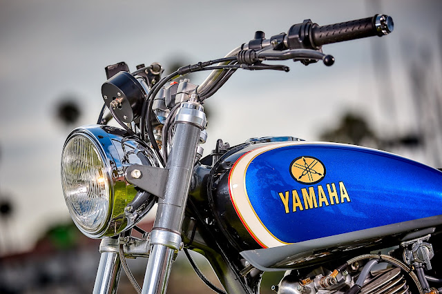 Yamaha SR500 By Mule Motorcycles Hell Kustom