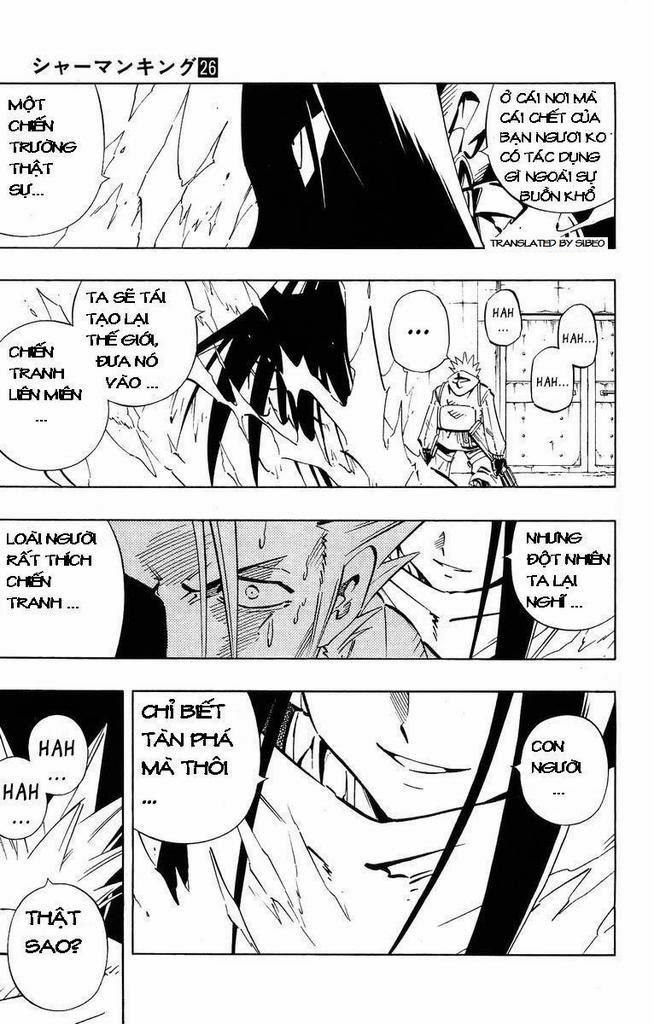 Shaman King [Vua pháp thuật] chap 232 trang 12