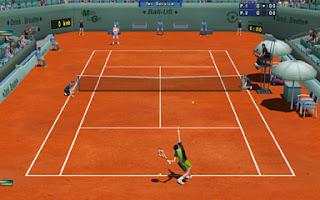 لعبة التنس الجديدة