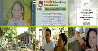 SHOCKING: Bata namatay sa Bataan matapos maka-isang shot ng anti-dengue vaccine