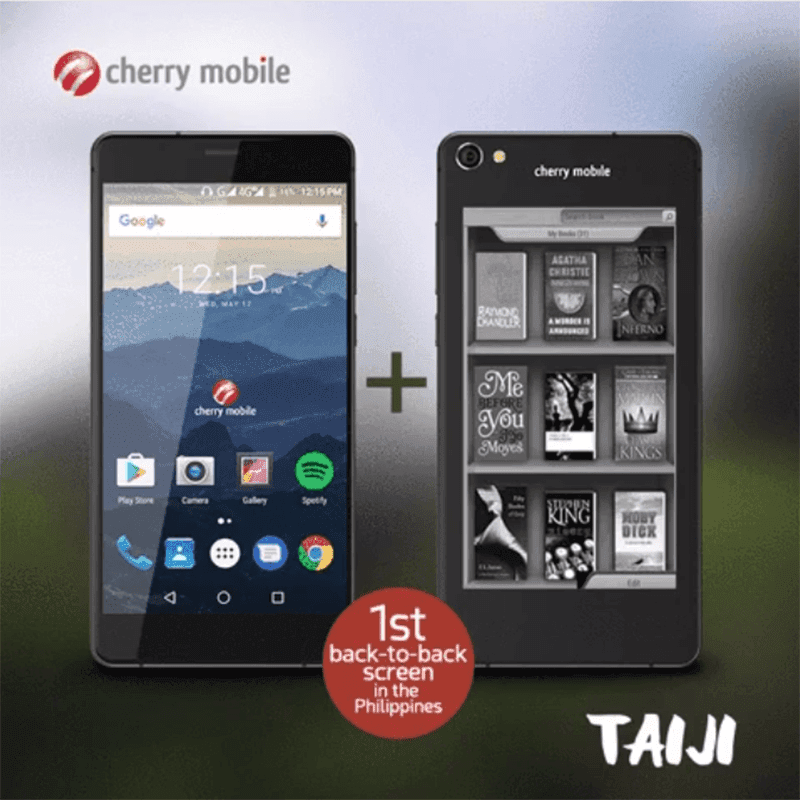 Cherry Mobile Taiji With Secondary E-Ink Reader Now In Stores!