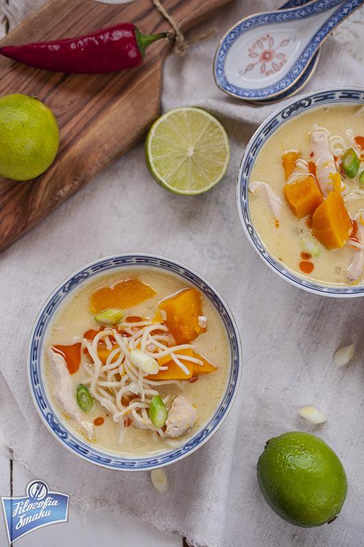 Zupa z dyni i kurczaka