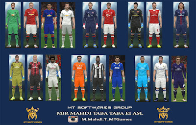 PES 2016 New Kitpack 2016-17 v.1.2 MT Games 1991