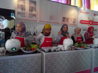 Peserta Sharp Cooking Battle siap bertempur
