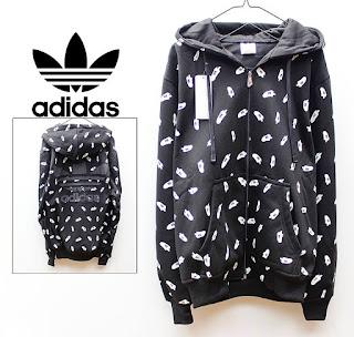 Jaket & Sweater Fleece Hoodie Adidas ADS005