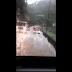 Vídeo: Rodovia se transforma em um rio após chuva na Serra do Rio do Rastro