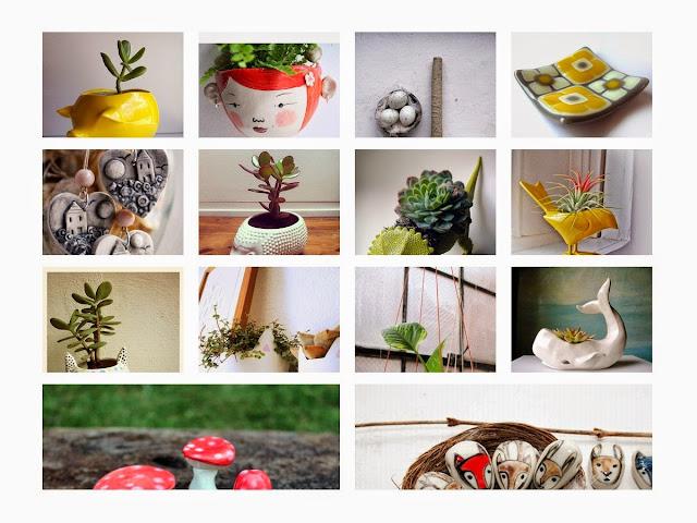 Ceramic Pot Planter : A Creative Mix Of Naturalizing And Uniqueness