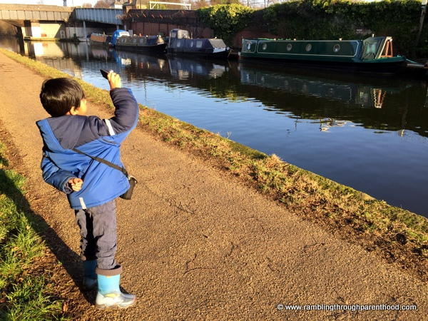 Rambling along the Bridgewater Canal
