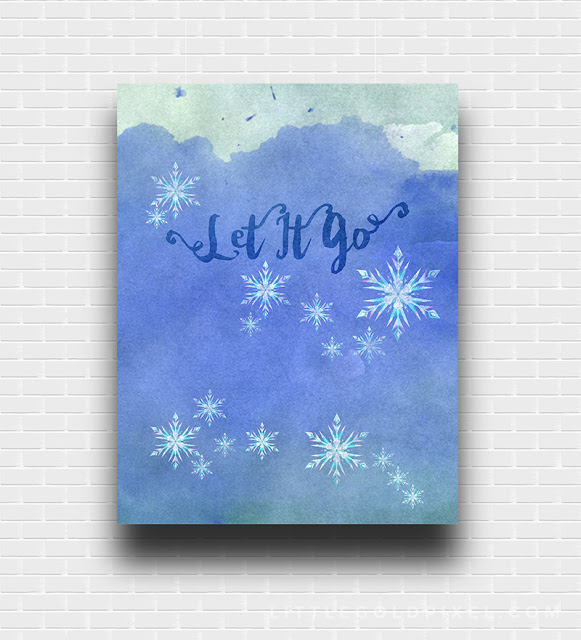 Let it Go free printable