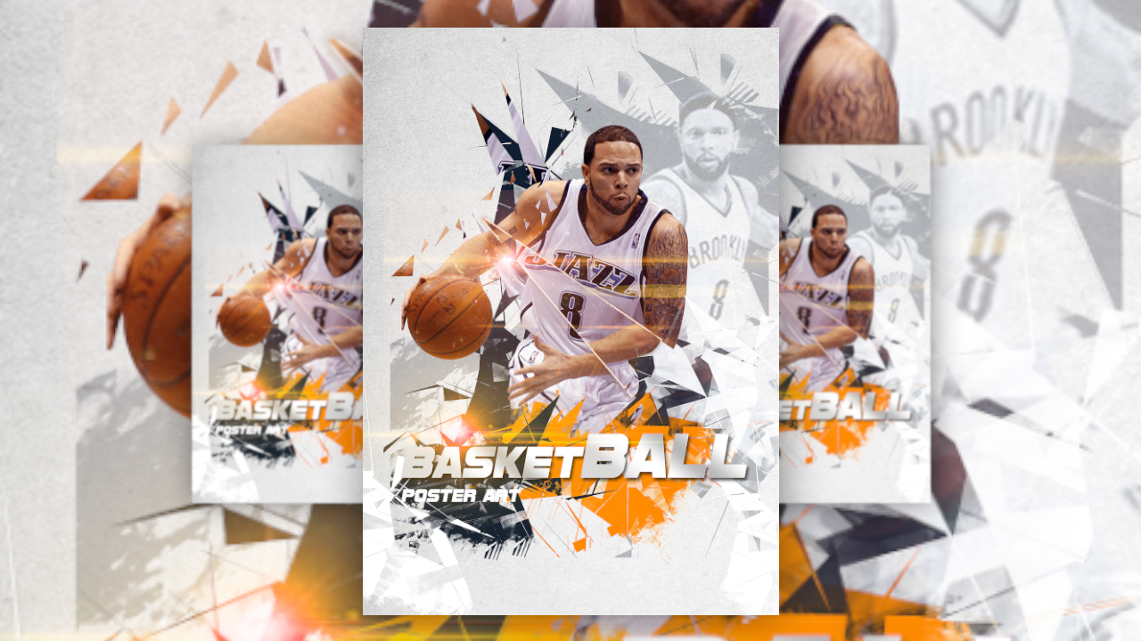 photoshop tutorial sports poster