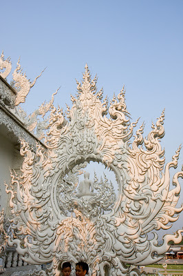 Wat Rong Khun temple details