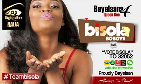 Bisola in Big Brother Naija