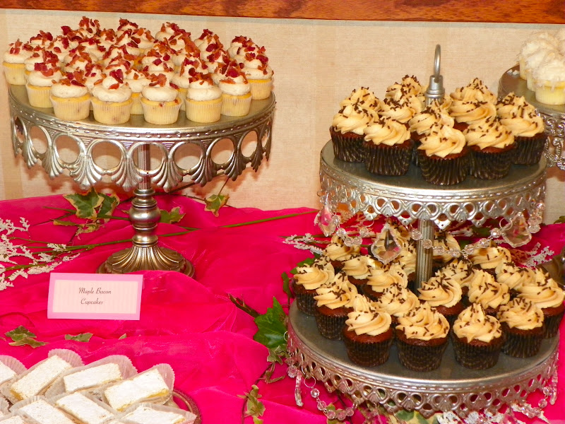 Plumeria Cake Studio Mini Dessert Buffet Featuring