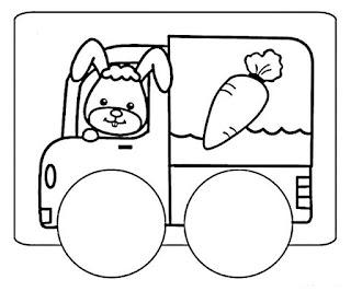 Imagens e desenhos de páscoa 2017 para imprimir e colorir