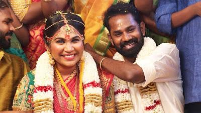RJ-Actor-Ramesh-Thilak-Navalakshmi-Wedding